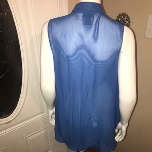 Rue21 Tops - Large Sheer Top w/ studded collar